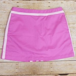 Adidas Stretch Athletic Skort With Back Pleats